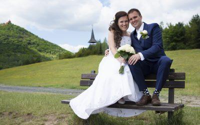 Svatební focení Martiny a Aleše
