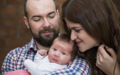 Novorozenecké focení Rozárky P.