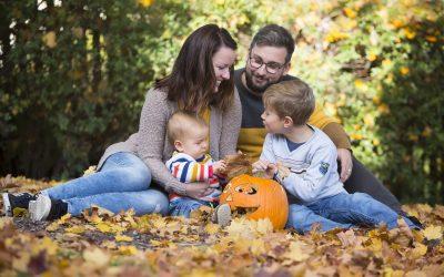 Podzimní rodinné focení – Růžičkovi