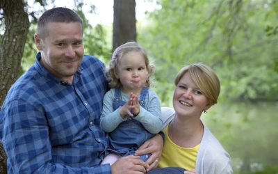 Rodinné focení – Provazníkovi