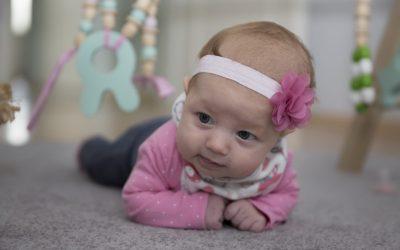 Novorozenecké focení Emilky