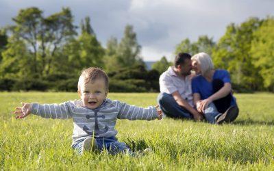 Rodinné focení v Duchcově