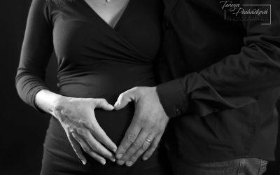 Těhotenské focení – Lenka a Radek