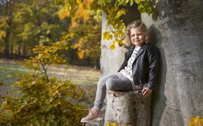 Podzimní rodinné fotografování na Dlouhé Louce